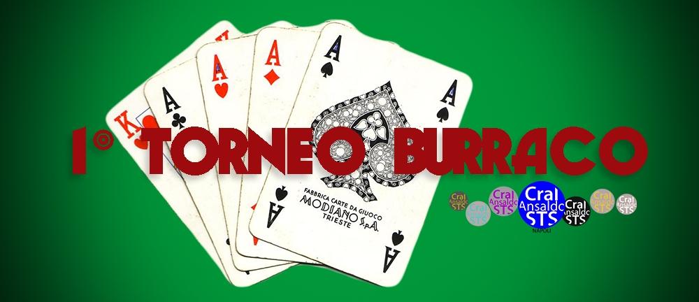 Torneo di Burraco   Ti va di giocare?